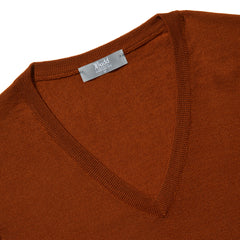 Budd Wool Slip Over Sweater in Cayenne-Sweater-Sterling-and-Burke