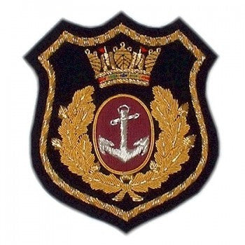 Merchant Navy Blazer Badge | Made in England