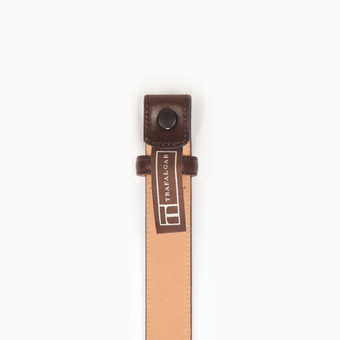 Cortina Leather, 1 Inch Belt Strap, Brown-Belt Strap-Sterling-and-Burke