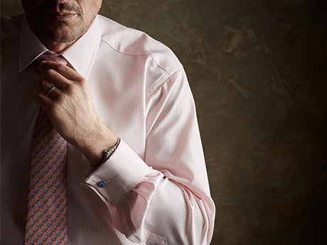 Morning Wear by Budd Shirtmakers, London-Dress Shirt-Sterling-and-Burke