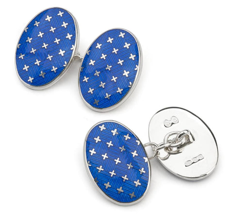 Jermyn St. Collection Chain Cufflinks, Royal
