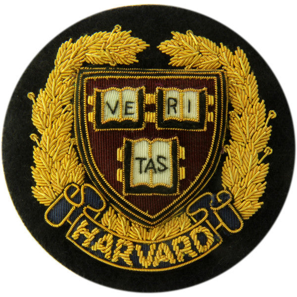 Harvard Blazer Badge | Made in England-Blazer Badge-Sterling-and-Burke