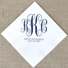 Custom Paper Napkins | Beverage Napkin | Cocktail Napkin | Custom Printing | Low Cost Quality Printing-Stationery-Sterling-and-Burke