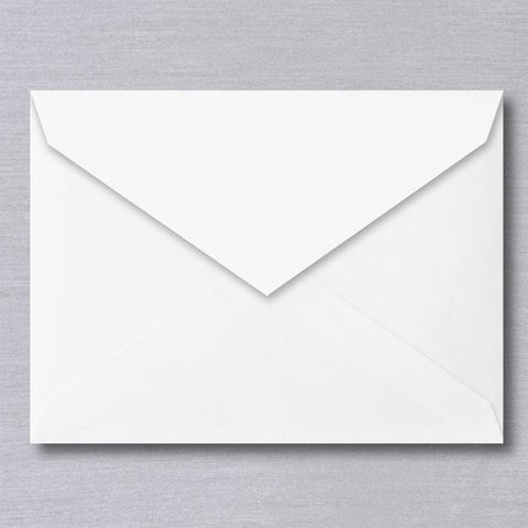 Classic S&B Blank Stationery | 10 Envelopes | Envelopes Only | Assorted Sizes | Finest Quality | Pure Cotton Paper made in USA | Sterling and Burke LTD