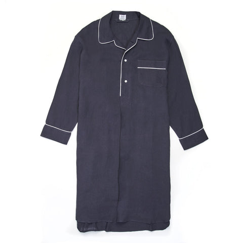 Budd Sleepwear | Linen Nightshirt | Old Navy | Budd Shirtmakers | Made in England