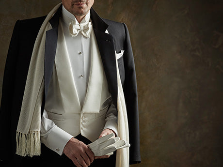 White Tie by BUDD Shirtmakers, London