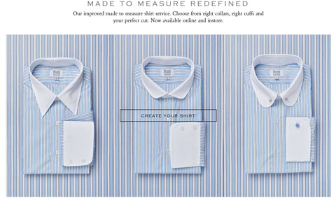 Made to Measure Dress Shirt by Budd Shirtmakers