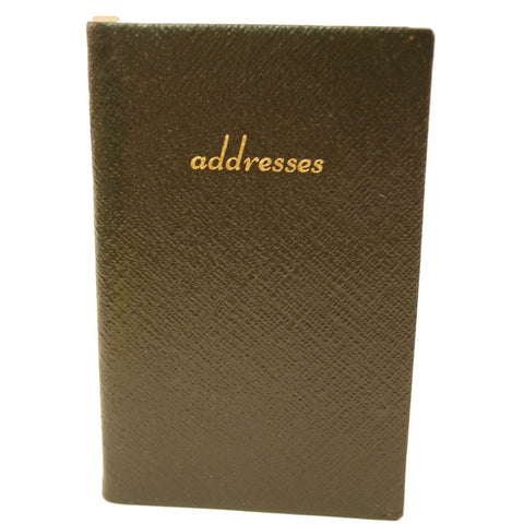 Address Book with Pencil, Leather 5 by 3 Inch-Address Book-Sterling-and-Burke