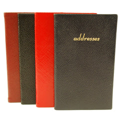 Address Book, Leather 5 by 3 Inch-Address Book-Sterling-and-Burke