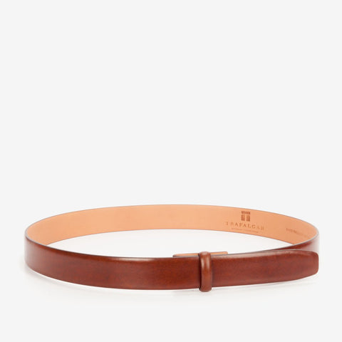 Cortina Leather, 1 3/16 Inch Belt Strap, Honey Maple