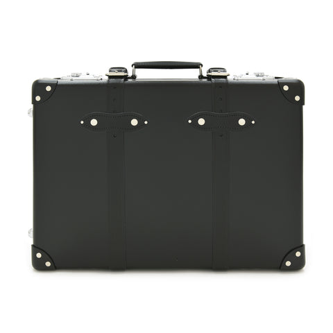 "Globe-Trotter Centenary 20"" Trolley Suitcase in Black"