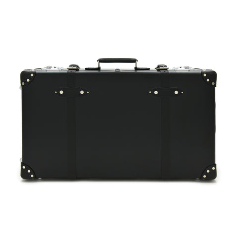 "Globe-Trotter Centenary 30"" Suitcase With Wheels in Black"