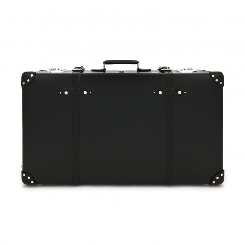 "Globe-Trotter Centenary 33"" Suitcase With Wheels in Black-Suitcase-Sterling-and-Burke"