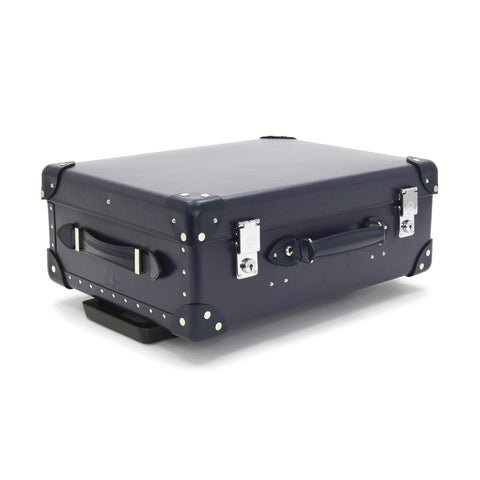 "Globe-Trotter Centenary 18"" Trolley Suitcase in Navy-Suitcase-Sterling-and-Burke"