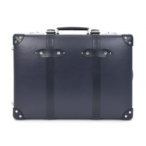 "Globe-Trotter Centenary 20"" Trolley Suitcase in Navy"