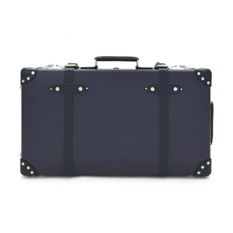 "Globe-Trotter Centenary 26"" Trolley Suitcase in Navy"