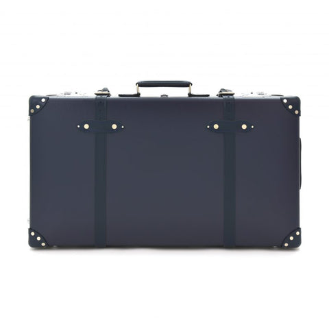 "Globe-Trotter Centenary 33"" Suitcase With Wheels in Navy"