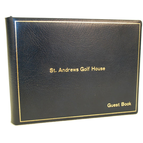 Guest Book Register, 7 by 9 Inches-Guest Book-Sterling-and-Burke
