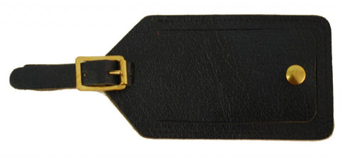 Leather Luggage Tag by Charing Cross