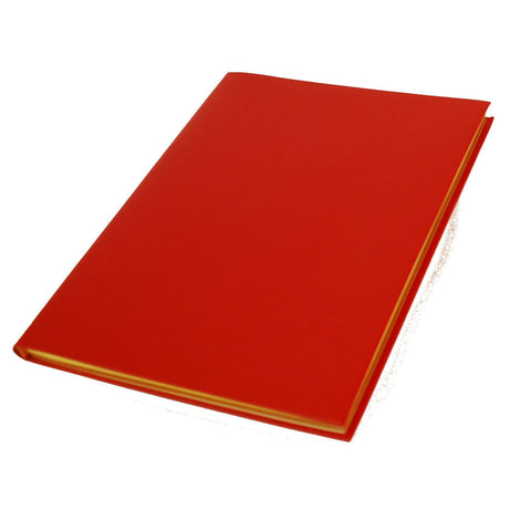 Crossgrain Leather Manuscript, 8 by 10 Inches with Lined Pages