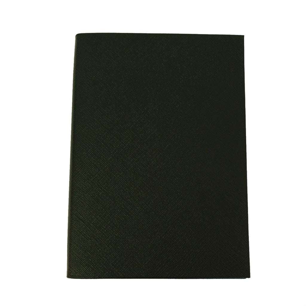Crossgrain Leather Notebook | 8 by 6 Inches | Lined Pages | Made in England | Charing Cross-Notebooks-Sterling-and-Burke