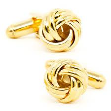 Knot Cufflinks | Gold, Rose Gold, and Silver | Sterling and Burke
