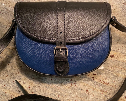 Tusting Cardington Medium Leather Handbag-Handbag-Sterling-and-Burke