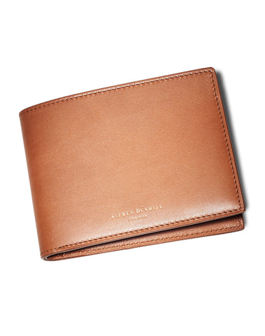 Dunhill Duke 6CC Billfold in Tan-Wallet-Sterling-and-Burke