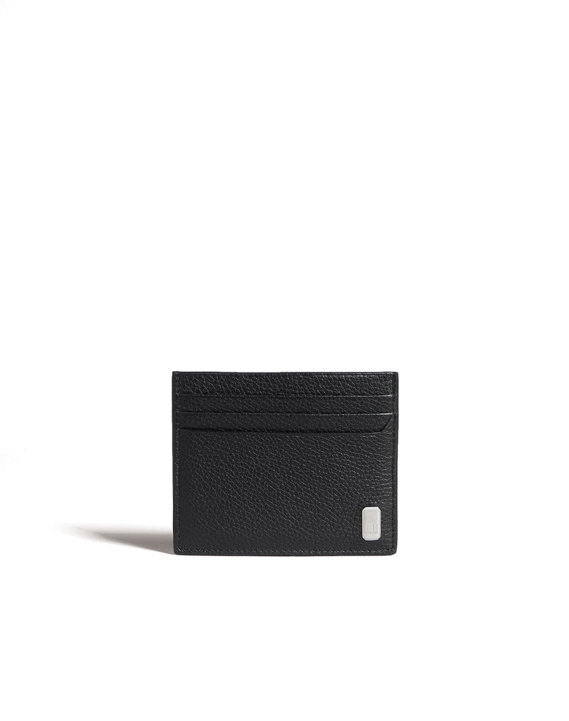 Dunhill Belgrave Card Case in Black-Wallet-Sterling-and-Burke