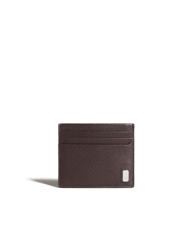 Dunhill Belgrave Card Case in Dark Chocolate