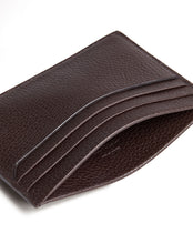 Load image into Gallery viewer, Dunhill Belgrave Card Case in Dark Chocolate-Wallet-Sterling-and-Burke
