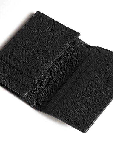 Dunhill Belgrave Business Card Case in Black-Wallet-Sterling-and-Burke
