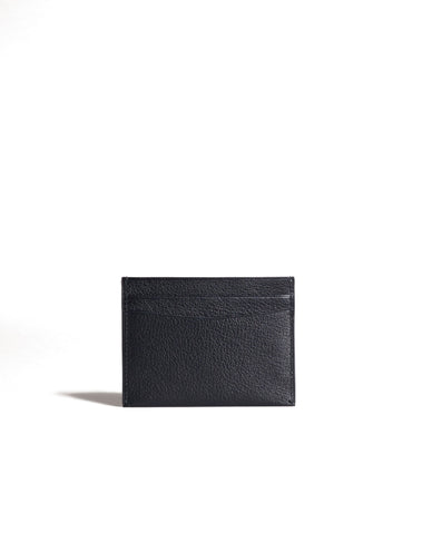 Dunhill Duke Fine Leather 4CC Card Case in Black