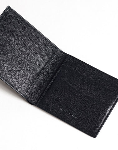 Dunhill Duke Fine Leather 8CC Billfold in Black-Wallet-Sterling-and-Burke
