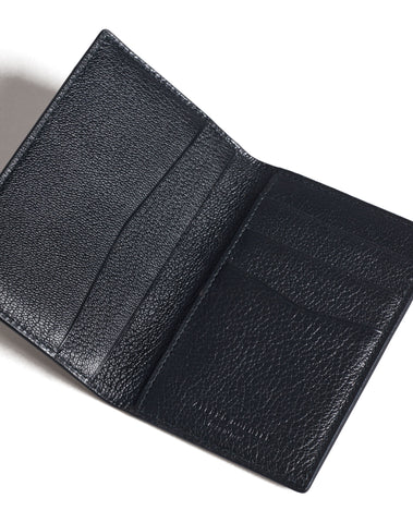 Dunhill Duke Fine Leather Business Card Case in Black-Wallet-Sterling-and-Burke