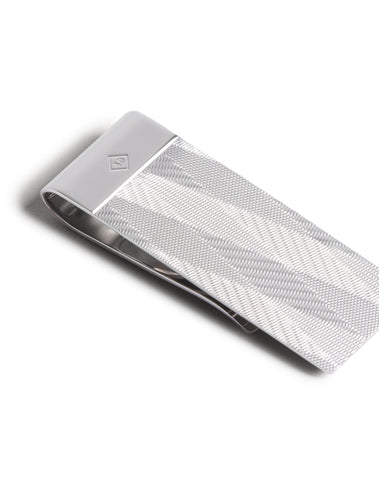 Dunhill Money Clip in Silver