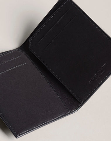 Dunhill Duke Business Card Case in Black-Wallet-Sterling-and-Burke