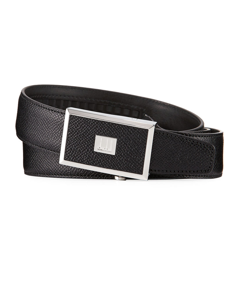 Dunhill Cadogan Automatic 30mm Buckle Belt in Black-Belt-Sterling-and-Burke