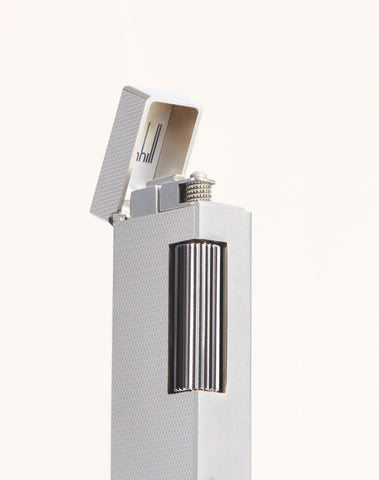 Dunhill Rollagas Facet Barley Lighter-Lighter-Sterling-and-Burke