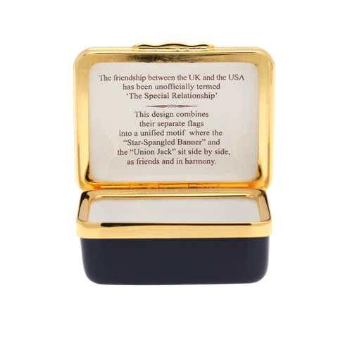 "A Very Special Relationship Collection | Enamel Box | ""A Very Special Relationship"" Box 