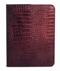 Embossed Alligator Design Letter Sized Pad Cover-Pad-Sterling-and-Burke