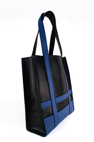 The Erik Tote, Navy/Indigo-Handbag-Sterling-and-Burke