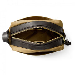 Travel Dopp Kit | Rugged Twill | Made in America | FILSON-Toiletry Bag-Sterling-and-Burke