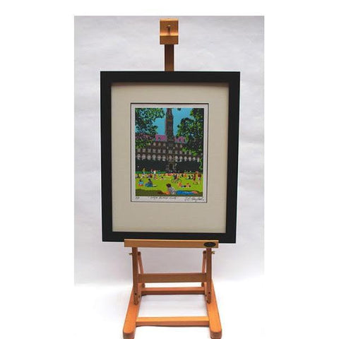 Framing Sample | Simple Black Frame | Art: 5 by 7 Inches | Mat: 8 by 10 inches | Gallery at Sterling & Burke-Frame-Sterling-and-Burke