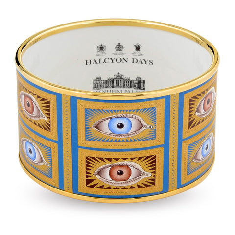 Halcyon Days 4cm Gladys Deacon Push Enamel Bangle