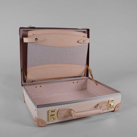 "Globe-Trotter Safari 16"" Slim Attache Case-Attache-Sterling-and-Burke"