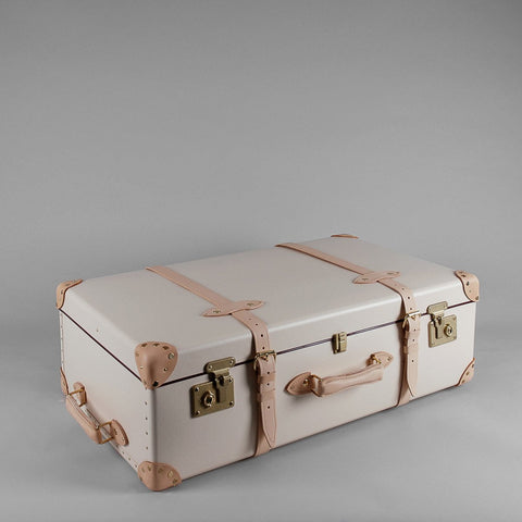 "Globe-Trotter Safari 33"" Suitcase With Wheels"