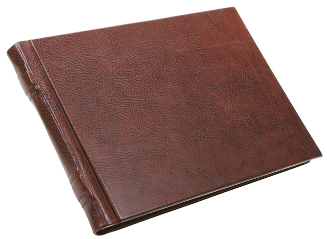 Guest Book | Large Format | Luxury Bespoke Books | Leather Bound | Made in England-Guest Book-Sterling-and-Burke