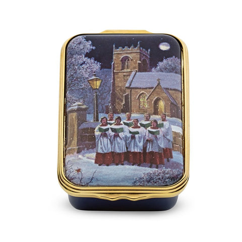 Halcyon Days Singing Choristers Enamel Box-Enamel Box-Sterling-and-Burke