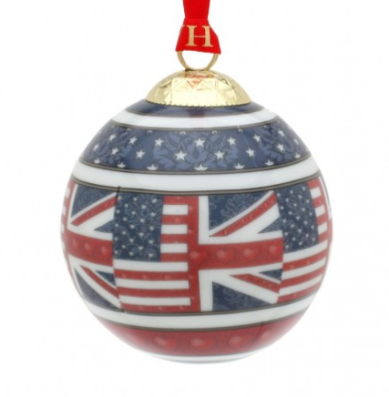Halcyon Days A Very Special Relationship Christmas Bauble
